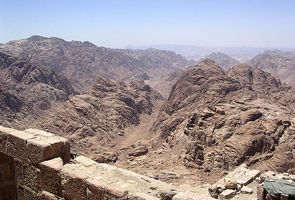 View From Sinai