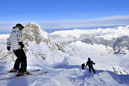 Frankreich - Winter - Courchevelle -