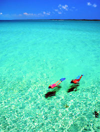 Out Islands - Schnorcheln auf den Bahamas © Bahamas Tourist Office