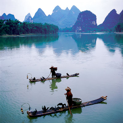 China - Guilin Fluss