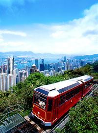 Hong Kong - Peak Tram - © Hong Kong Tourism Board