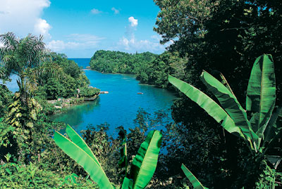 Jamaika - Port Antonio - Blaue Lagune- Quelle: Jamaica Tourist Board