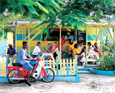 Jamaika - Outdoor Eating- Quelle: Jamaica Tourist Board