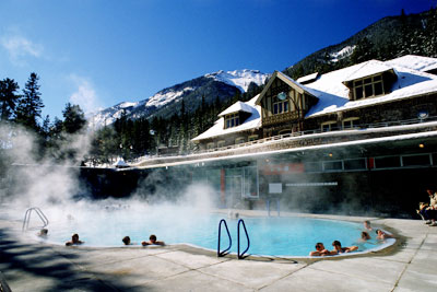 Kanada - Banff Upper Hot Springs - Banff National Park -  ©  Travel Alberta