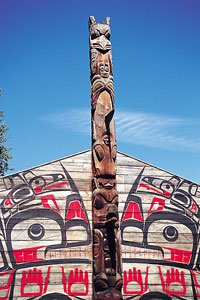 Kanada - Hazelton - K´san Native Village - Berg Lake -  ©  Tourism British Columbia