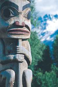 Kanada - Hazelton - K´san Native Village - Berg Lake -  ©  Tourism British Columbia / Tom Ryan