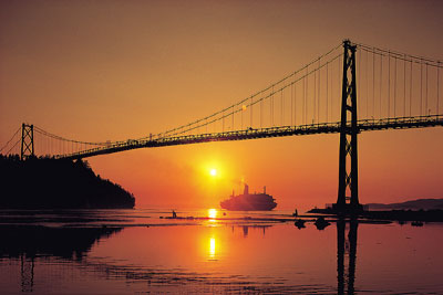 Kanada - Vancouver - Lions Gate Bridge -  ©  Tourism British Columbia