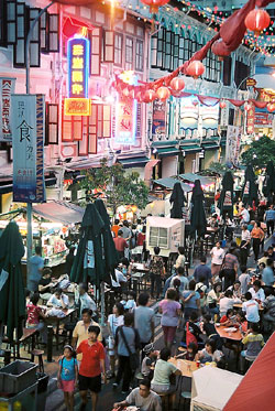 Singapur - Food Street  - Bildquelle: Singapore Tourist Board