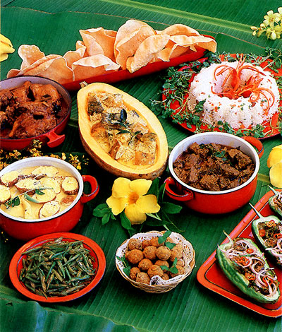 reisen in sri lanka - speisekarte - curry, jaggery und arrak - Sri Lanka Küche